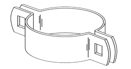 B10 2-way Brace Bands - Beveled