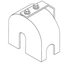 cantilever gate roller guards